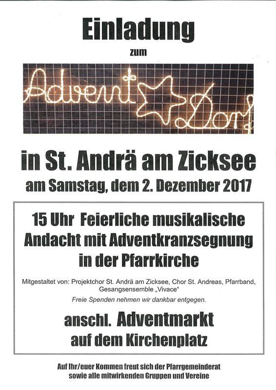 Advent im Dorf 2017